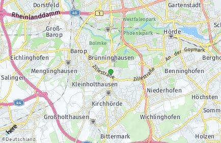 Stadtplan Dortmund OT Renninghausen