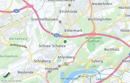 Stadtplan Dortmund OT Schanze