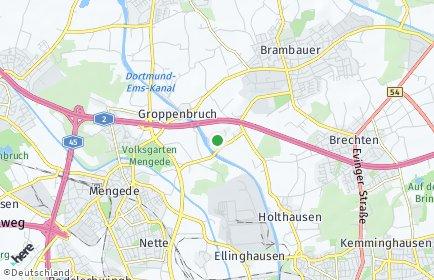 Stadtplan Dortmund OT Schwieringhausen