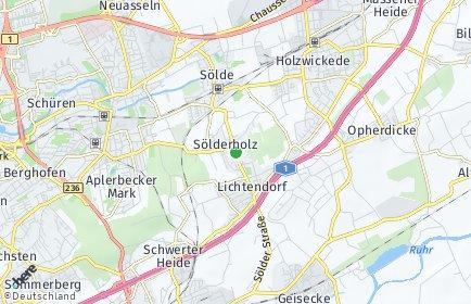 Stadtplan Dortmund OT Sölderholz
