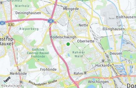 Stadtplan Dortmund OT Westerfilde