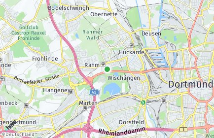 Stadtplan Dortmund OT Wischlingen