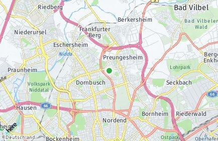 Stadtplan Frankfurt am Main OT Eckenheim