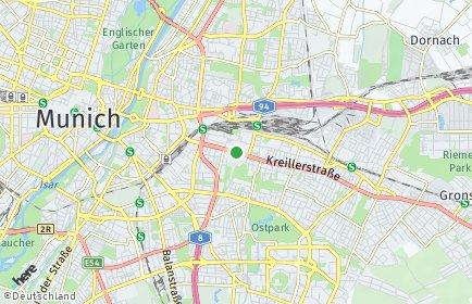 Stadtplan München OT Berg am Laim