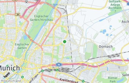 Stadtplan München OT Bogenhausen