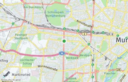 Stadtplan München OT Laim