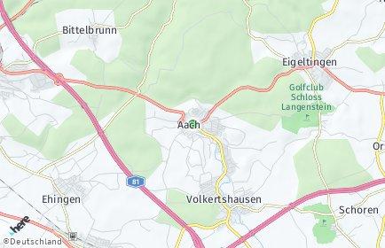 Stadtplan Aach (Hegau)