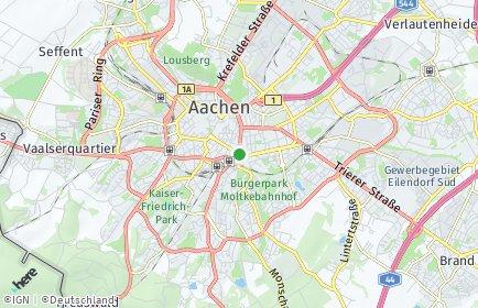 Stadtplan Aachen