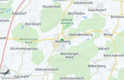 Stadtplan Abenberg