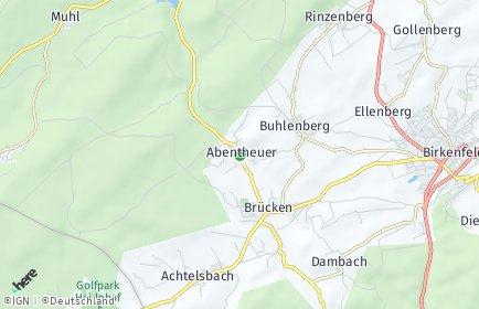 Stadtplan Abentheuer