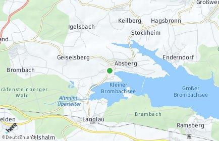 Stadtplan Absberg