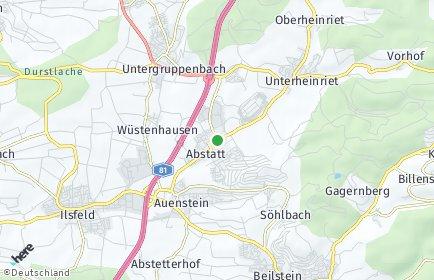 Stadtplan Abstatt