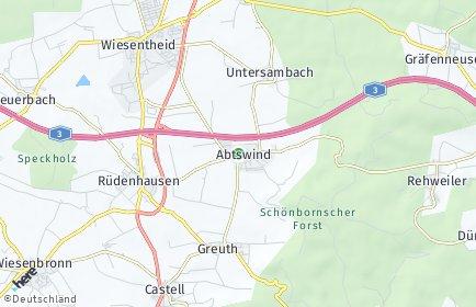 Stadtplan Abtswind
