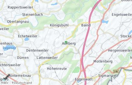 Stadtplan Achberg