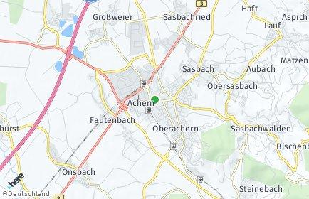 Stadtplan Achern