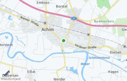 Stadtplan Achim