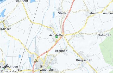 Stadtplan Achstetten