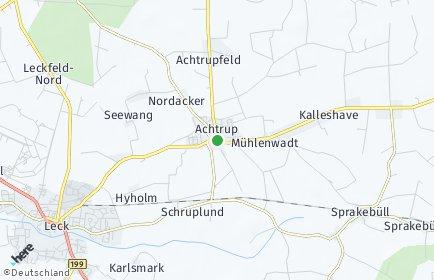 Stadtplan Achtrup