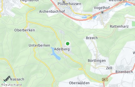 Stadtplan Adelberg