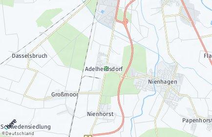 Stadtplan Adelheidsdorf