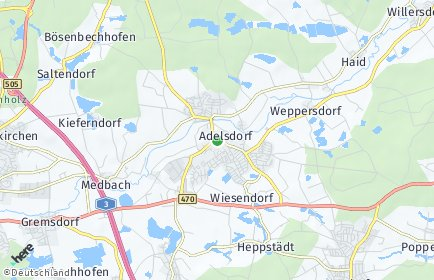 Stadtplan Adelsdorf