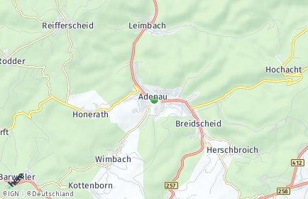 Stadtplan Adenau