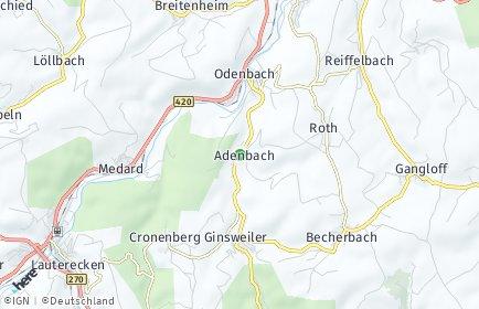 Stadtplan Adenbach
