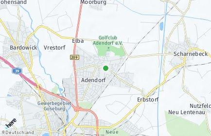 Stadtplan Adendorf