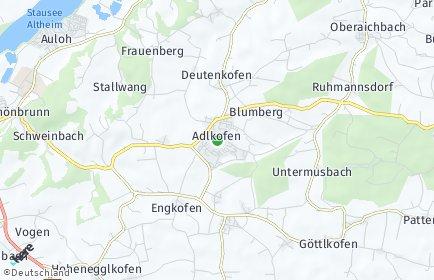 Stadtplan Adlkofen