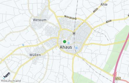 Stadtplan Ahaus