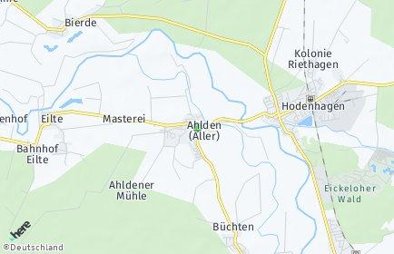 Stadtplan Ahlden (Aller)