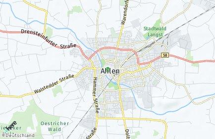 Stadtplan Ahlen