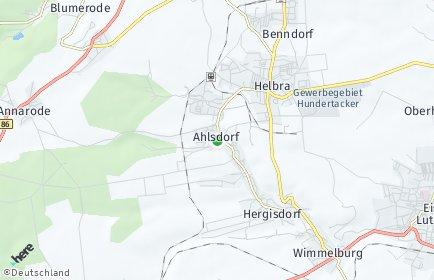 Stadtplan Ahlsdorf