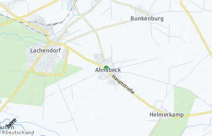 Stadtplan Ahnsbeck
