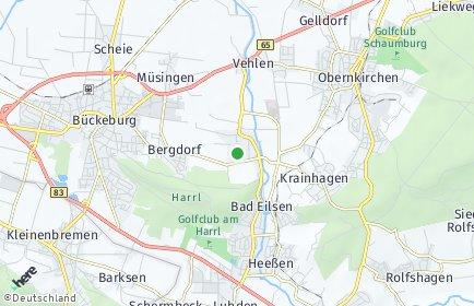 Stadtplan Ahnsen