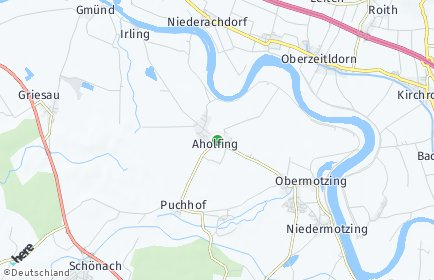 Stadtplan Aholfing