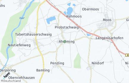 Stadtplan Aholming