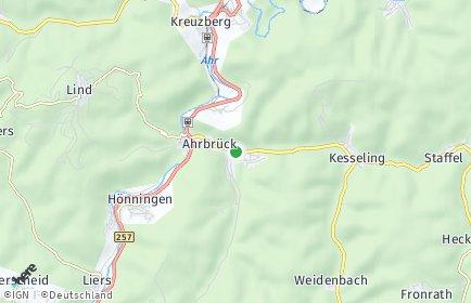 Stadtplan Ahrbrück