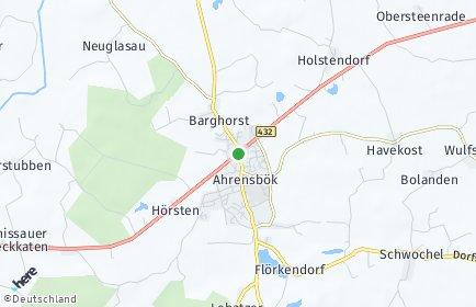 Stadtplan Ahrensbök
