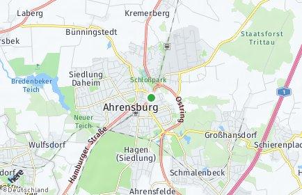 Stadtplan Ahrensburg