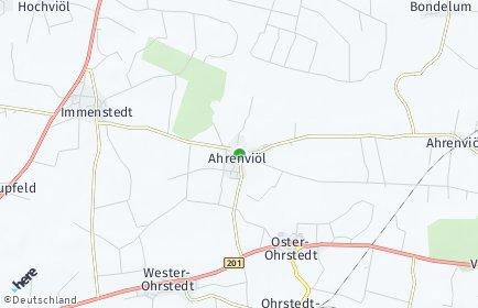 Stadtplan Ahrenviöl