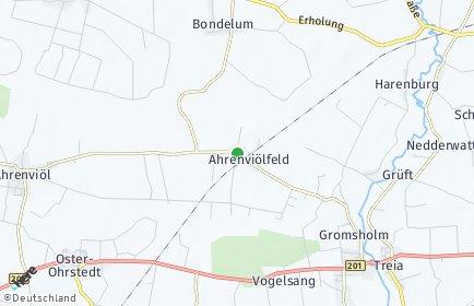 Stadtplan Ahrenviölfeld
