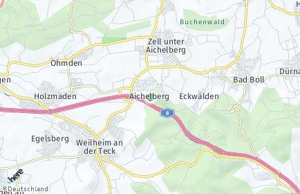 Stadtplan Aichelberg