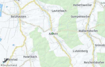 Stadtplan Aichen