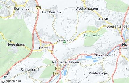 Stadtplan Aichtal