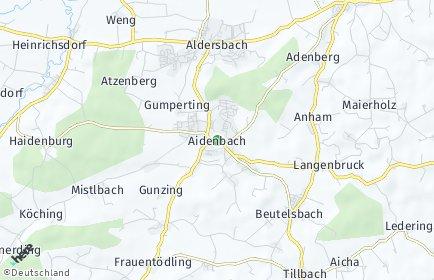 Stadtplan Aidenbach