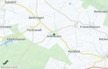 Stadtplan Aidhausen