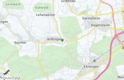 Stadtplan Aidlingen