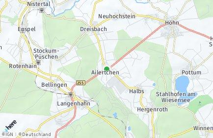 Stadtplan Ailertchen