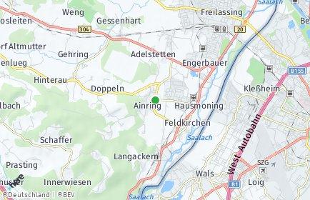 Stadtplan Ainring